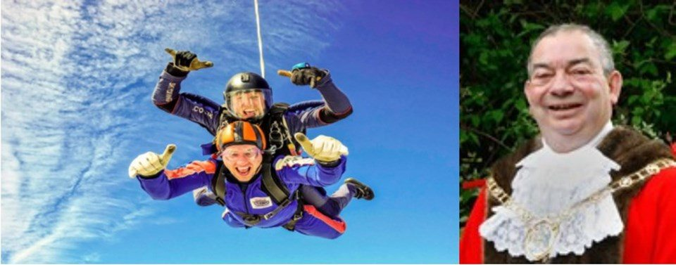 Skydiving Mayor – Mission Completed!